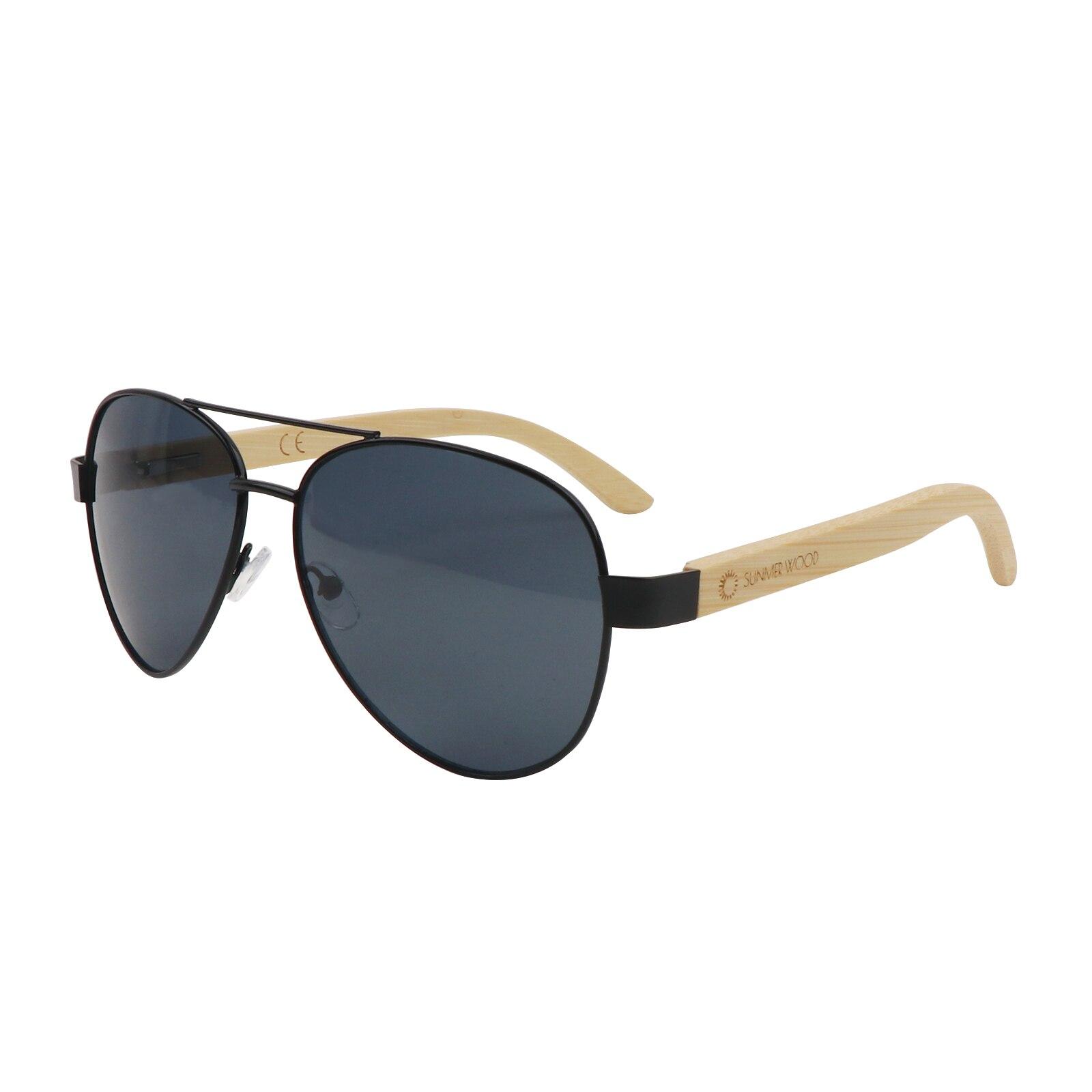 Деревянные бамбуковые солнцезащитные очки от солнца, солнцезащитные очки с деревянными дужками, защита от ультрафиолета…