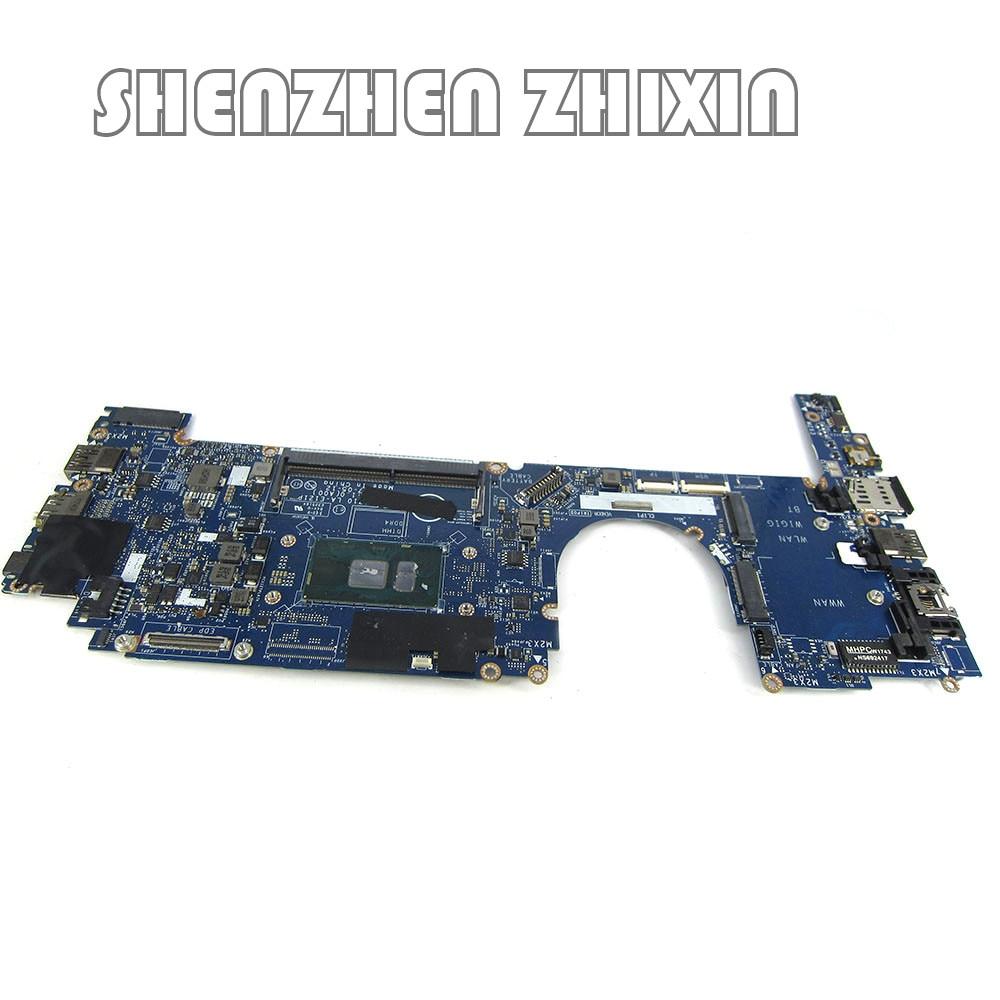 Yourui لديل خط العرض E7280 7280 اللوحة المحمول W/SR2F1 I7-6600U CN-0X0FTD 0X0FTD X0FTD CAZ10 LA-E121P 100% العمل