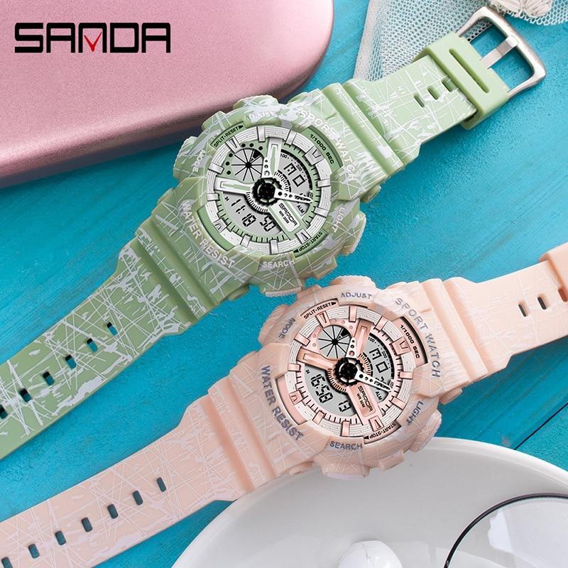 sports watch waterproof luminous electronic watch couple watch personality student watch creative watch women watches enlarge