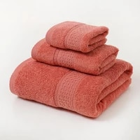 elka 100 cotton towel sets for bathroom hand towels face towels soft super absorbent towel facethick large bath towel bathroom