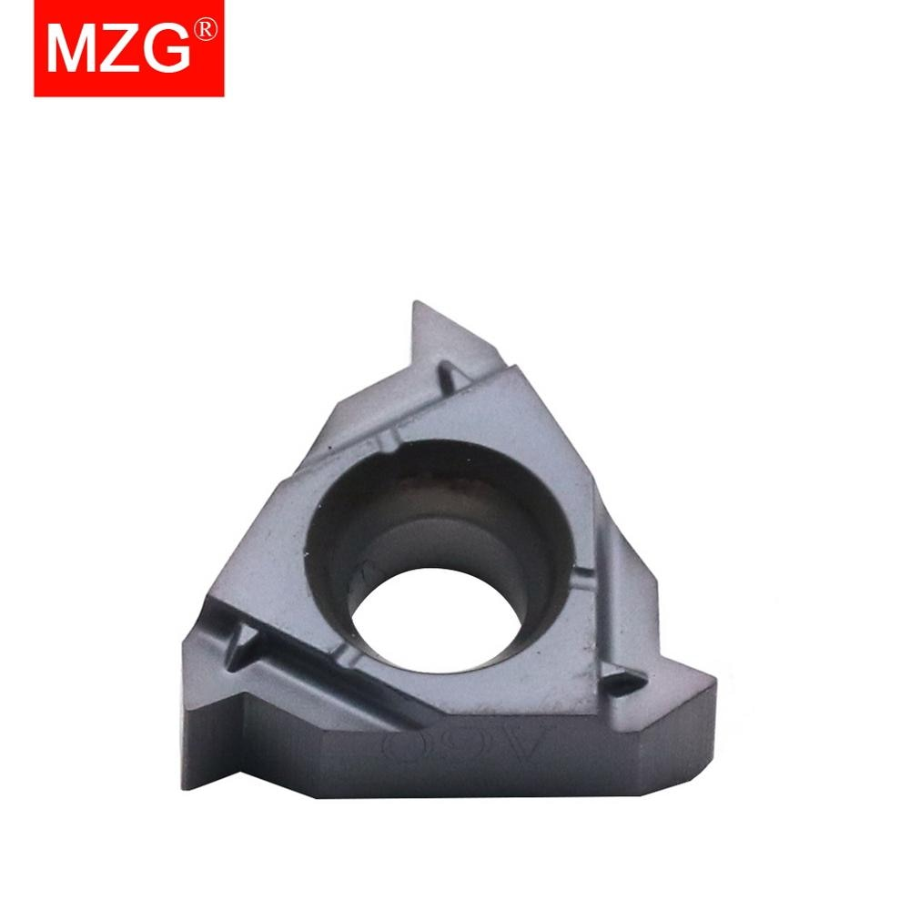 MZG 11IR A60 ZP10 التصنيع باستخدام الحاسب الآلي الداخلية الفولاذ المقاوم للصدأ معالجة تحول خيوط أدوات حامل مثقاب من الكربيد إدراج