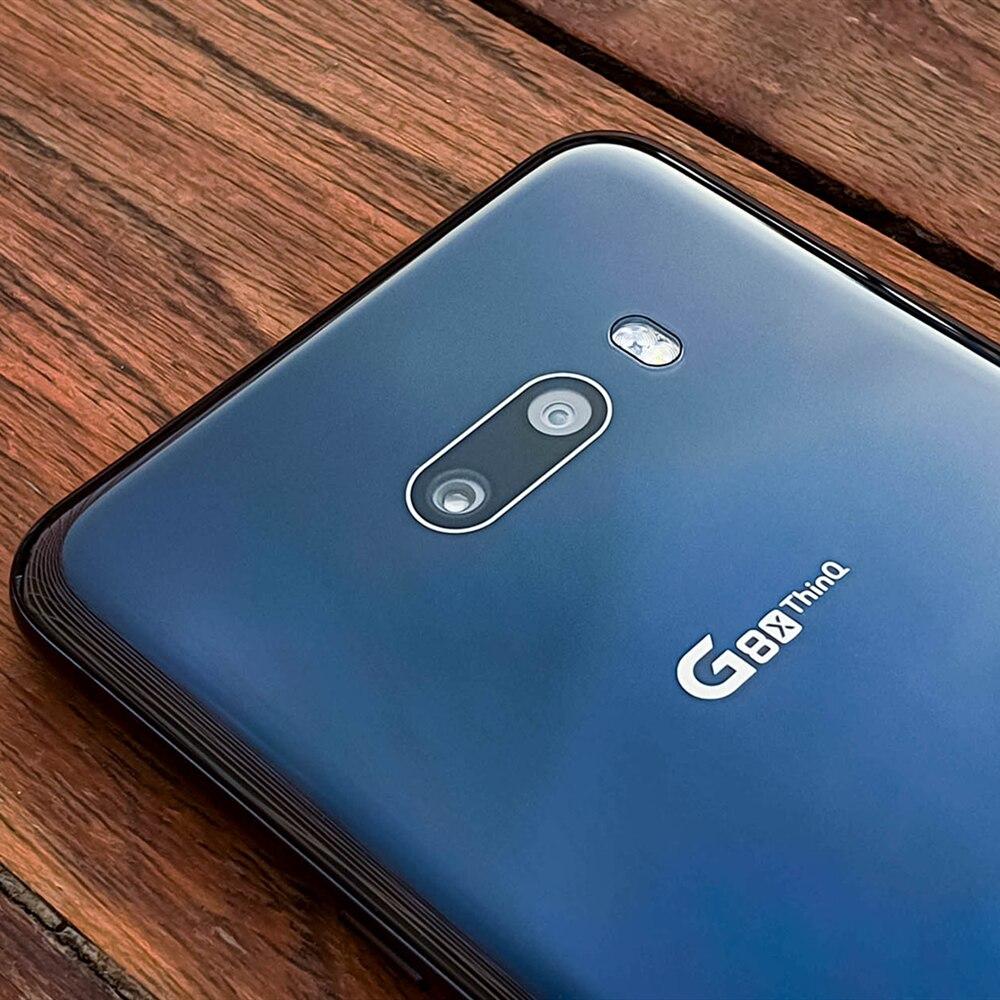 Фото5 - Смартфон LG G8X ThinQ G850EMW G850UM, 2sim-карты и 1SIM-карта, разблокированный мобильный телефон, экран 6,4 дюйма, 6 ГБ ОЗУ 128 Гб ПЗУ, восемь ядер, NFC, 13 МП, 4G LTE, ...