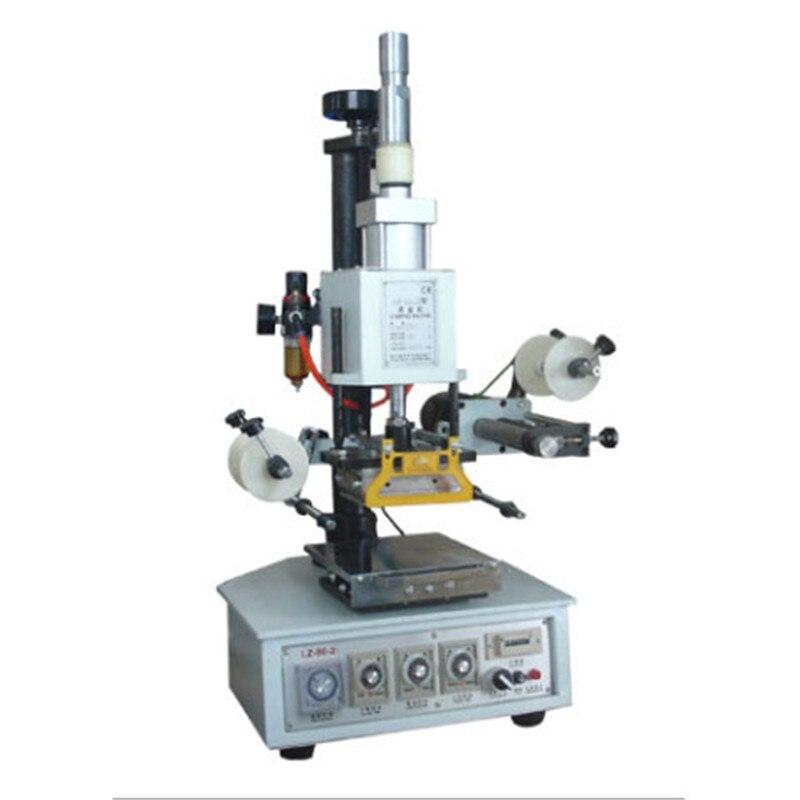 90-2D Pneumatic Hot Stamping Machine Automatic Digital Hot Stamping Machine Can fine-Tune The Workbench Small Bronzing Machine