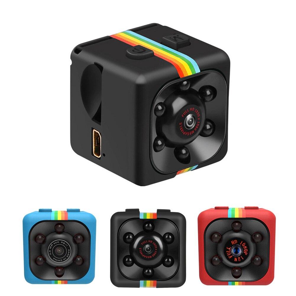 SQ11-Mini cámara HD 1080P, videocámara de visión nocturna, detección de movimiento, DVR,...
