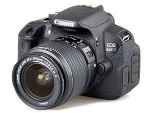 Б/у однообъективной зеркальной камеры Canon EOS 650D/EOS Rebel T4i для зеркальной однообъективной камеры Камера 18MP - APS-C CMOS Сенсор 3