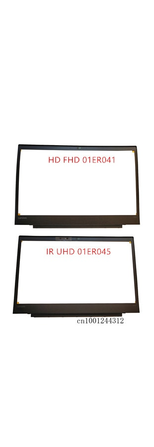 إطار أمامي LCD جديد لجهاز Lenovo ThinkPad P51S ، FHD ، 01ER041 IR UHD 01ER045