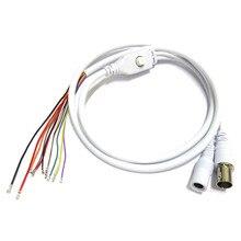 1,5 T 11Pin BNC видео DC12V Мощность OSD Управление соединительный кабель аналогового видеонаблюдения Камера модуль доска меню Кнопка конец кабеля, черный, белый