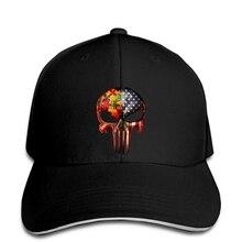 Casquette de Baseball autisme punisseur crâne drapeau américain hommes noir nous fournisseur chapeau de relance