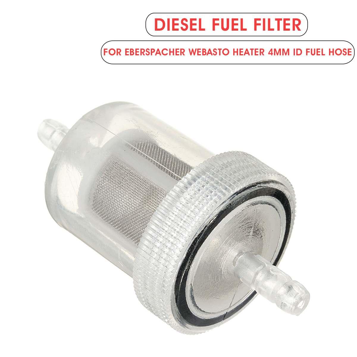 Calentador de estacionamiento de aire diésel de 4mm filtro de combustible de Gas filtro de aceite Universal para caravana autocaravana