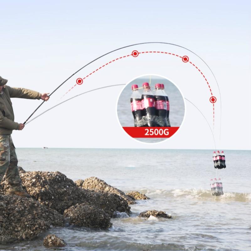 4H 5H 6H Super Hard Carp Fishing Pole High Carbon Fishing Rod Hand Olta 3.6m-6.3m Fishing Canne De Pesca Fishing Tackle enlarge
