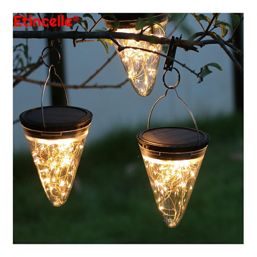 outdoor led lights waterproof landscape solar decoration Holiday cottage garden For country house picket fences camping lamp