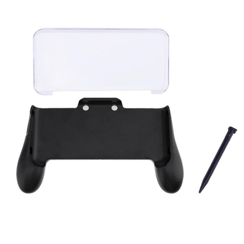 3 en 1 de mano Gamepad titular + caja de cristal + Stylus de plástico pluma para Nintendo nuevo 2DS le XL