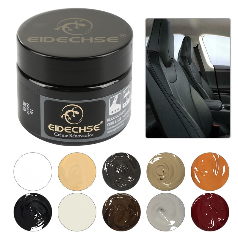 Car Care Liquid Leather Repair Kit Auto Complementary Color Paste Car Seat Sofa Coat Hole Scratch Cracks Polish Paint Care TSLM1