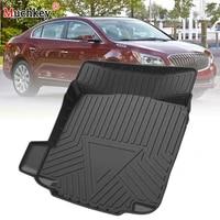 muchkey tpe trunk mat for buick lacrosse 2010 2011 2012 2016 car waterproof non slip custom rubber 3d cargo liner accessories