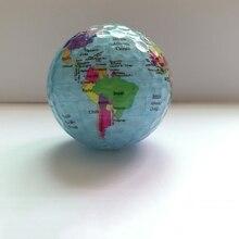 Globe carte couleur balles de Golf pratique balles de Golf balles de cadeau de Golf
