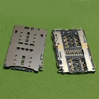 sim card reader slot tray holder connector socket for huawei nova caz al10 tl10 lite was al00 nova2 plus bac al00 repair parts