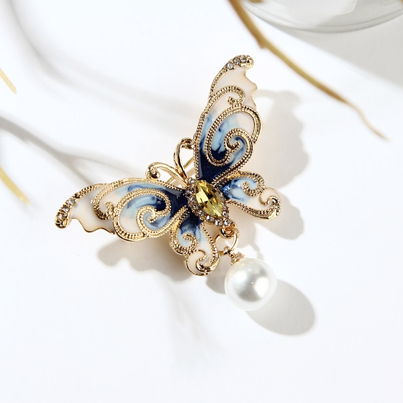 Broches cristal borboleta alta qualidade strass cristal borboleta broches pinos moda feminina jóias