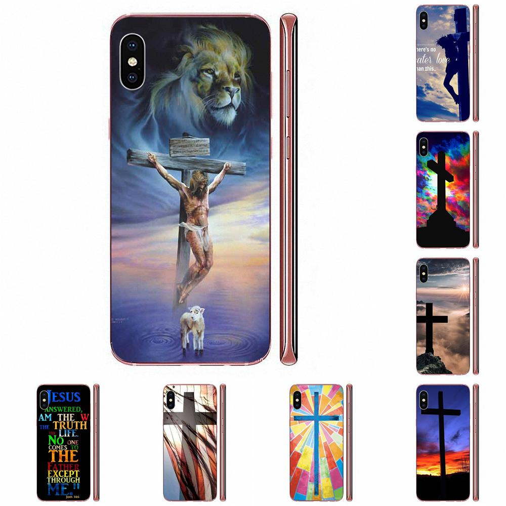 Christian Cross Someone To Believe TPU Silicone Case For Apple iPhone 4 4S 5 5C 5S SE SE2 6 6S 7 8 11 Plus Pro X XS Max XR