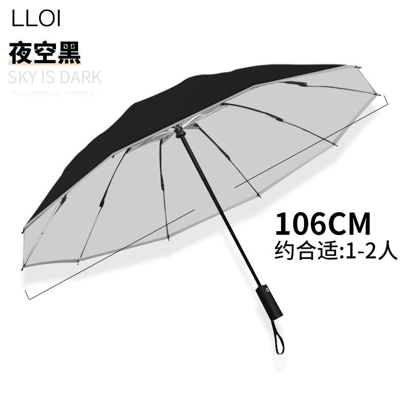 Guarda-chuva ao ar Negócio à Prova de Vento Engrenagem da Chuva Reverso Livre Dobrável Carro Reflexivo Automático Luxo Guarda-chuva Grande Guarda Chuva Dg50u