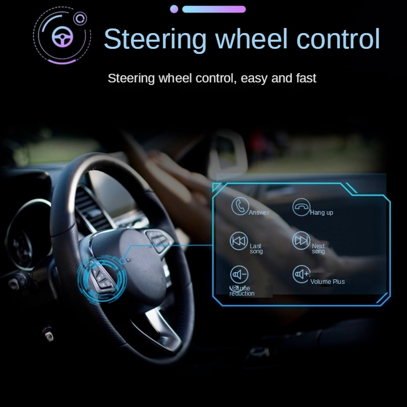 Ymesy  2 Din Car GPS Navigation Auto Radio Stereo Bluetooth FM Car Multimedia MP5 Player 7'' Touch Screen 7021G GPS Navigator enlarge