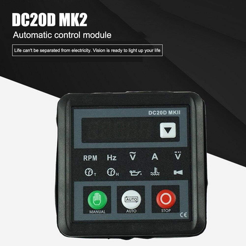 Controlador del generador del motor controlador del módulo de Control del generador DC20D MKII CLH @ 8
