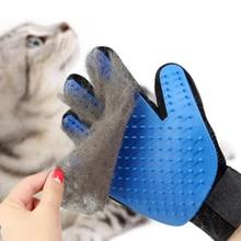 Pet Glove Cat Grooming  Silicone Brush Hair Deshedding soft Pet Grooming Gloves Dog Bath Clean Massa
