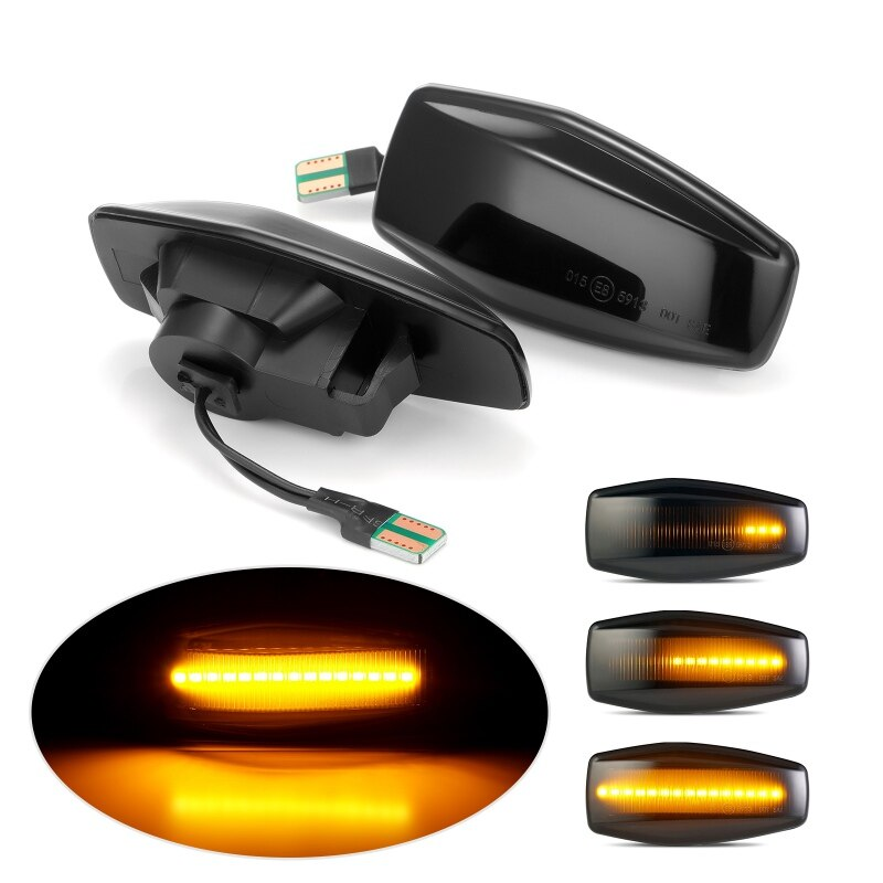 Cool LED Flowing Indicator Light For Hyundai Plug Play Streamer Side Marker Turn Signal Light For Elantra Getz XG Tucson 2Pcs