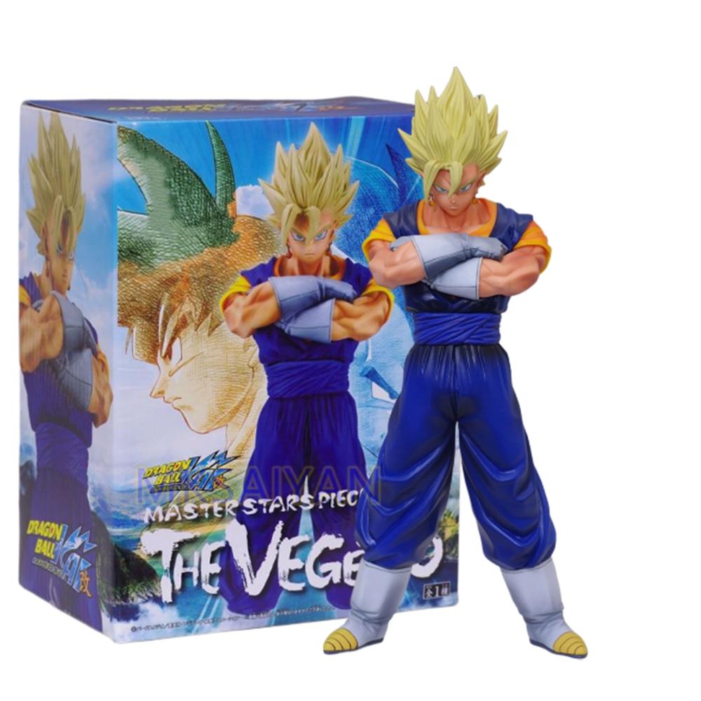 Dragon Ball Z Vegetto Anime figura de acción de maestro estrellas pieza juguete Goku Vegeta Figma modelo DBZ de Vegetto muñeca de coleccionista Juguetes
