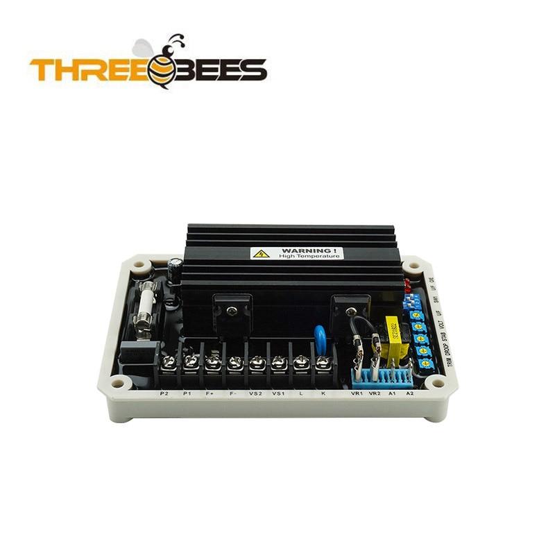 Регулятор напряжения EA16A AVR, бесщеточный генератор, аксессуары, регулятор 30 кВт, плата регулятора напряжения