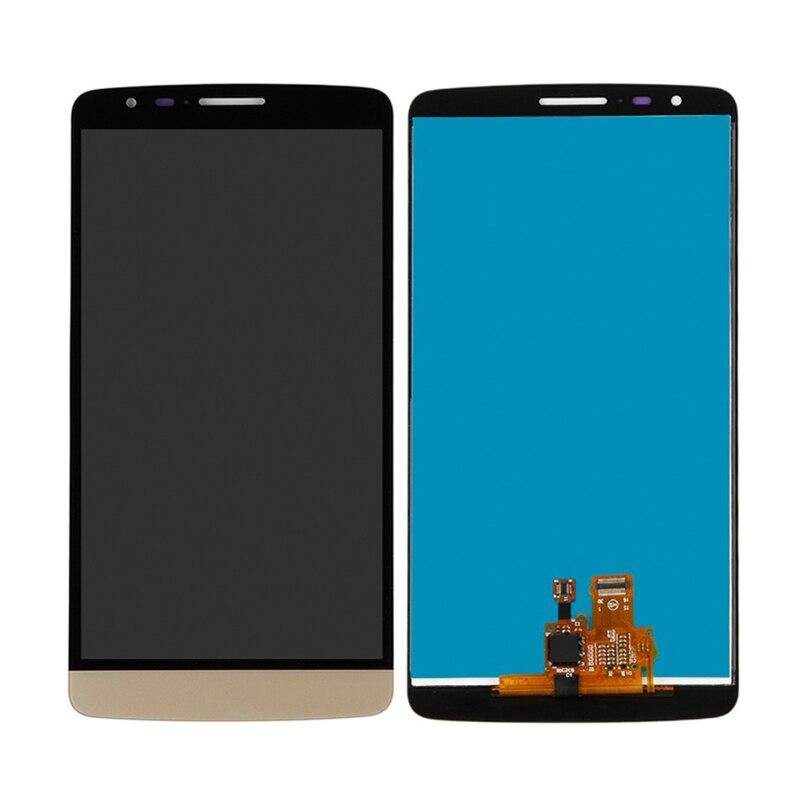 5,5 pulgadas para LG G3 Stylus D690 D690 LCD pantalla táctil Sensor digitalizador montaje sin marco con kit de