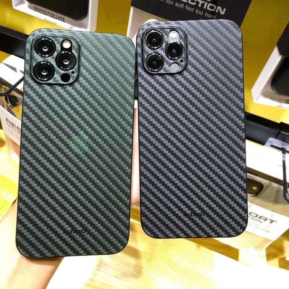 ENMOV 2 цвета спортивный автомобиль ультралегкий чехол из углеродного волокна с рисунком для iPhone12 Pro Max матовый противоударный чехол для iPhone12 ...