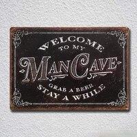 mancave accessories garage bar shop crates gifts for men tin sign metal sign tin sign metal painting tin sign