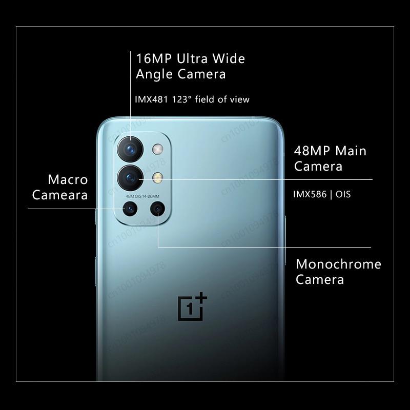 Фото4 - Смартфон OnePlus 9R, телефон с глобальной прошивкой, экран 9 R, процессор Snapdragon 870, 8 ГБ, 128 ГБ, экран AMOLED 6,55 дюйма 120 Гц, 65 Вт, Официальный магазин OnePlus ...