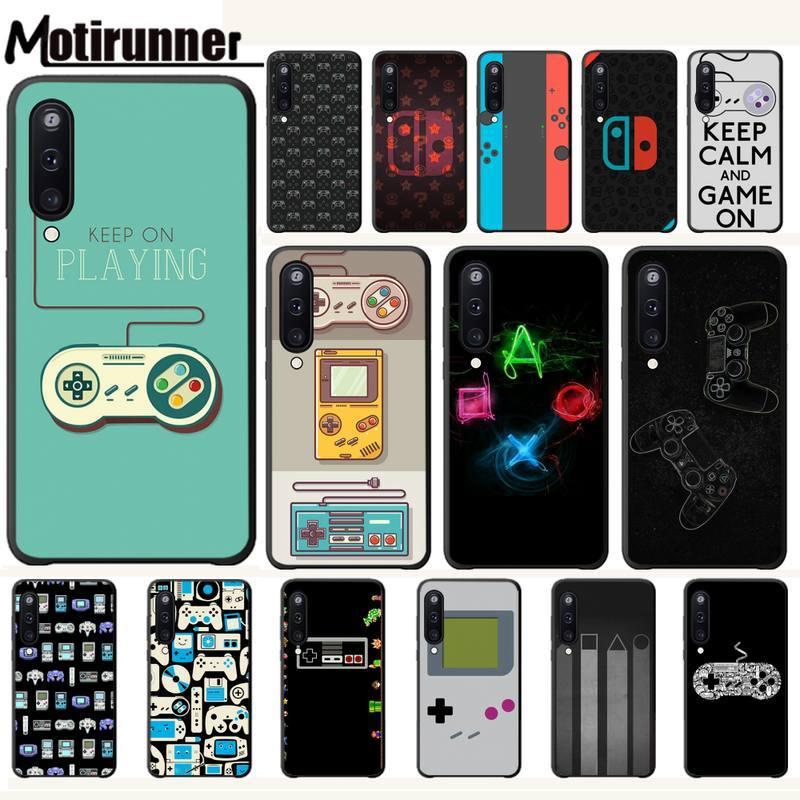 Motirunner Game Controller Luxury Phone Case Coque For Samsung Galaxy A10 A20 A50 A51 A70 A71 A40 A30 A30S A80 Cases Funda