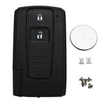 Remplacement pour Toyota Corolla Verso Prius télécommande clé coque Fob boîtier interrupteur batterie 2 bouton accessoires de voiture