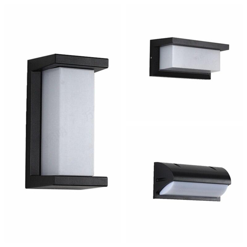 مصباح LED في الهواء الطلق مقاوم للماء و Moistureproof الجدار الخفيفة 12W18W30W مصباح حديقة IP65 الممر ضوء مصباح حديقة الجهد 85-265 فولت