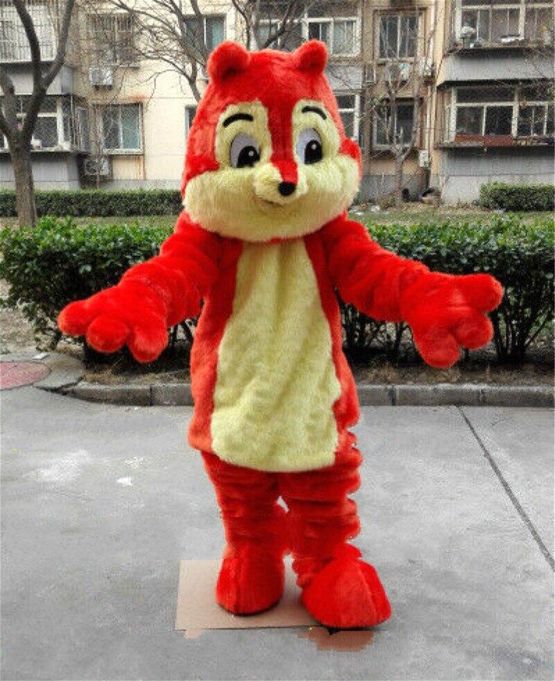 Disfraz de mascota ardilla traje de juego de Cosplay traje de Halloween adulto personalizar tamaño chico traje de fiesta de cumpleaños