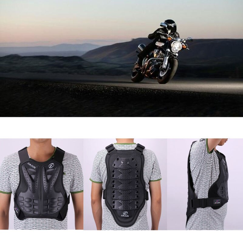 Motocross Protection Vest Body Armor Protective Gear Dirt Bike Chest Back  Protector For Motocross Skiing Skating Snowboarding enlarge