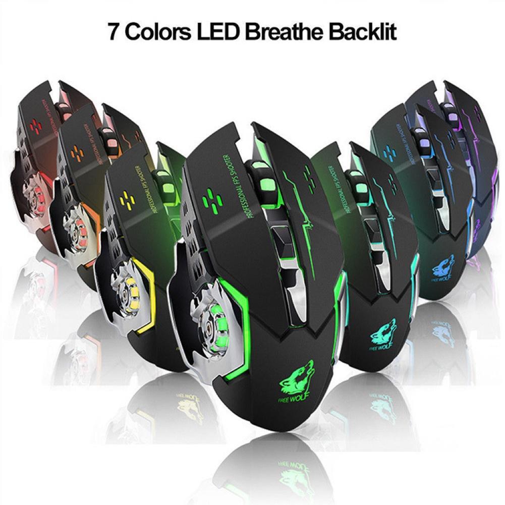 Эргономичная перезаряжаемая Беспроводная Бесшумная мышь 2,4 ГГц, игровая мышь, механическая мышь, беспроводная Bluetooth мышь, беспроводная мышь