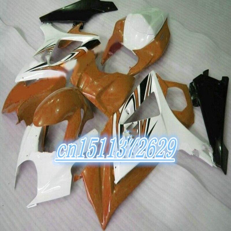 Un GSXR1000 K7 07-08 GSX-R1000 blanco negro 07 08 GSX R1000 GSXR...