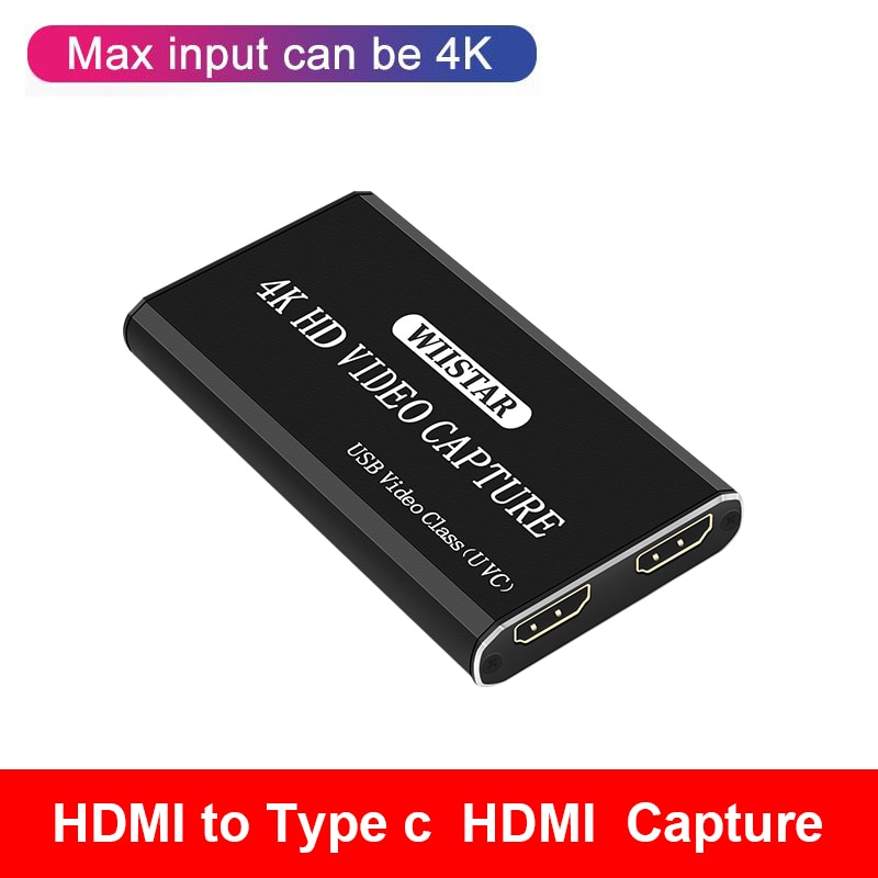 best hd 1080p hd 3g sdi hdmi vga ypbpr dvi capture dongle live streaming video audio capture card game video grabber 4K HDMI To USB Video Capture Card Dongle 1080P 30fps HD Video Recorder Grabber For OBS Capturing Game Game Capture Card Live