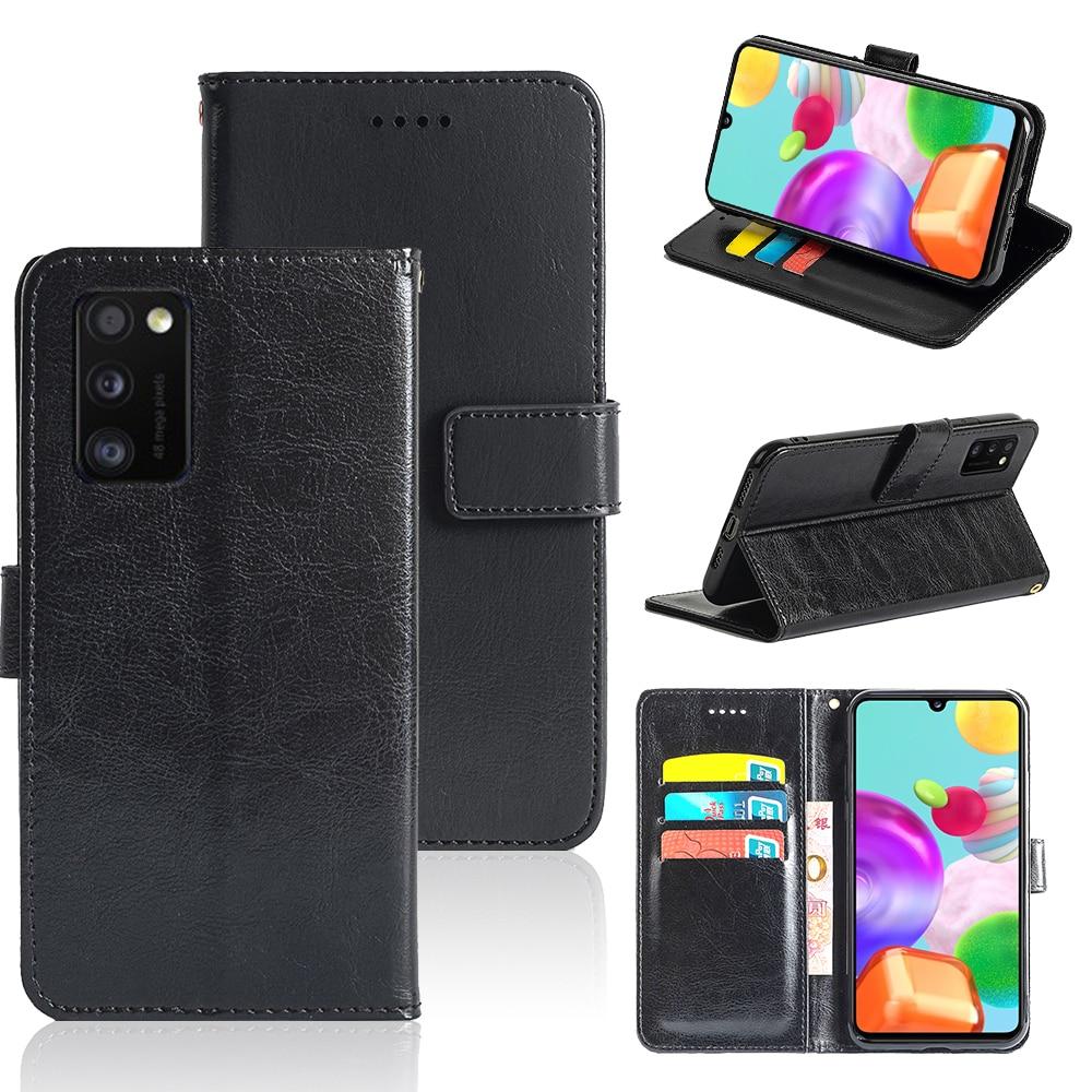 ROEMI para Samsung Galaxy A41 versión JP favorito de alta calidad con una ranura para efectivo en el interior y con una correa