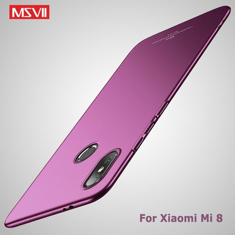 Mi 8 Lite чехол Msvii тонкий матовый чехол для Xiaomi Mi8 Pro SE чехол Xiomi Mi 8 Lite Жесткий ПК чехол для Xiaomi Mi 8 Pro SE UD чехлы