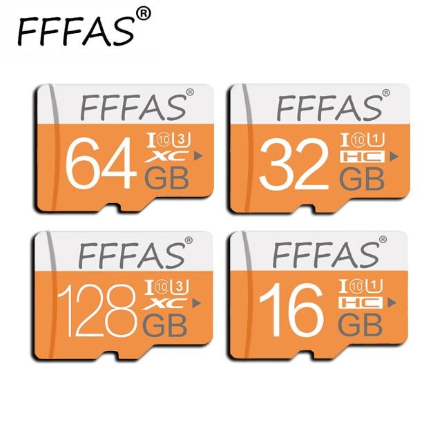 Original y genuino Transcend Tarjeta Micro SD SDXC de 64GB y 128GB de alta velocidad Tarjeta de memoria SDHC 16GB 32GB Tarjeta flash Tarjeta Microsd Tarjeta