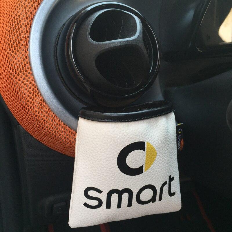 Suporte de óculos de bolso para guardar celular, bolsa de armazenamento para smart 451 453 fortwo cooper acessórios
