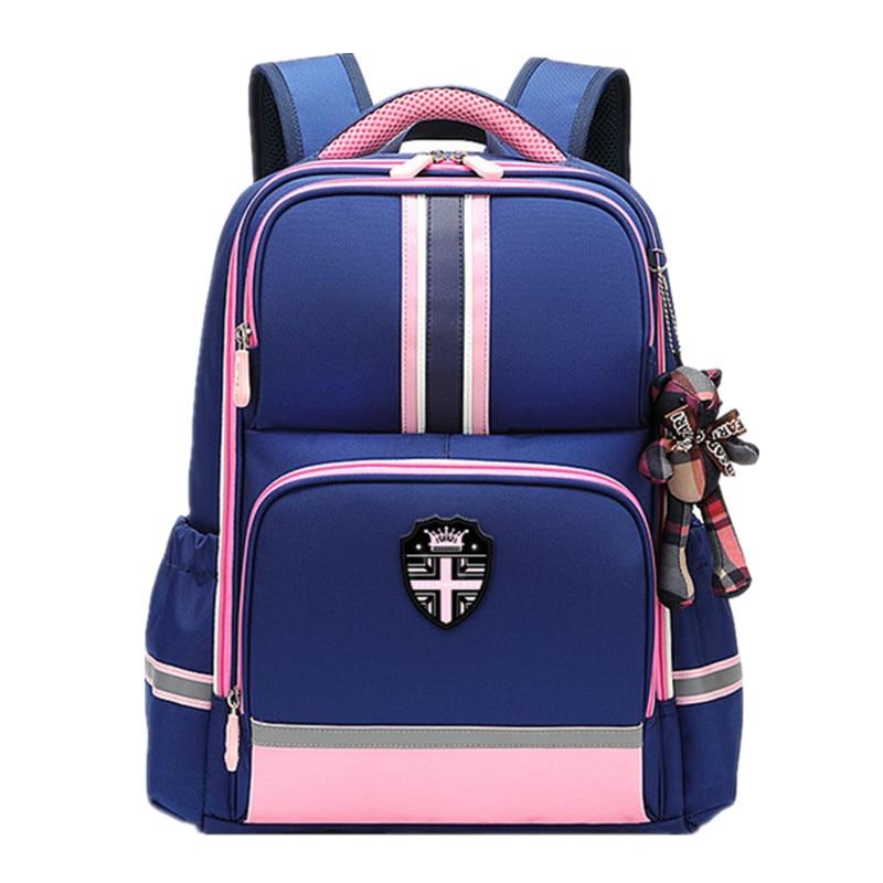 Orthopedic School Bags For Girls Boys 2021 New Waterproof Children Backpack Kids Bookbag Primary School Backpack Mochila escolar недорого