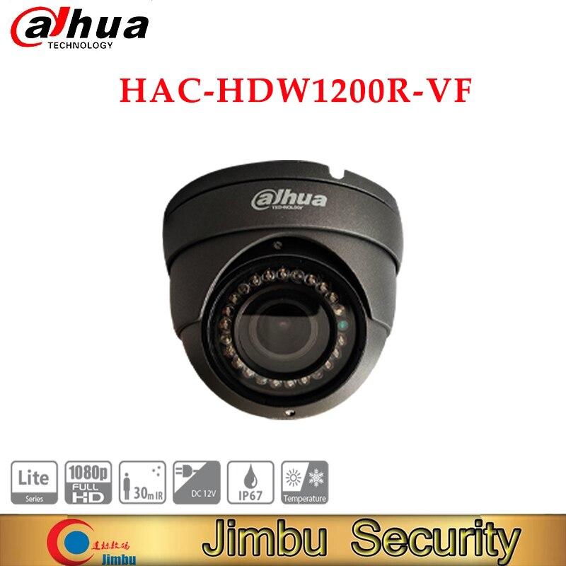 داهوا 2MP HDCVI IR مقلة العين كاميرا HAC-HDW1200R-VF-S3-G IR طول 30 متر 2.7-13.5 مللي متر Vari-البؤري عدسة IP67 DC12V الذكية IR كاميرا تلفزيونات الدوائر المغلقة