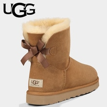 UGG Boots 1016501 Original Ladies Classic Mini Bailey Bow 1 Ribbon Boot Uggs Snow Shoes Winter Boots