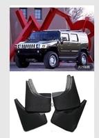 for hummer h2 molded mudflaps 2003 2009 mud flap splash guard mudguards front rear fender accessories