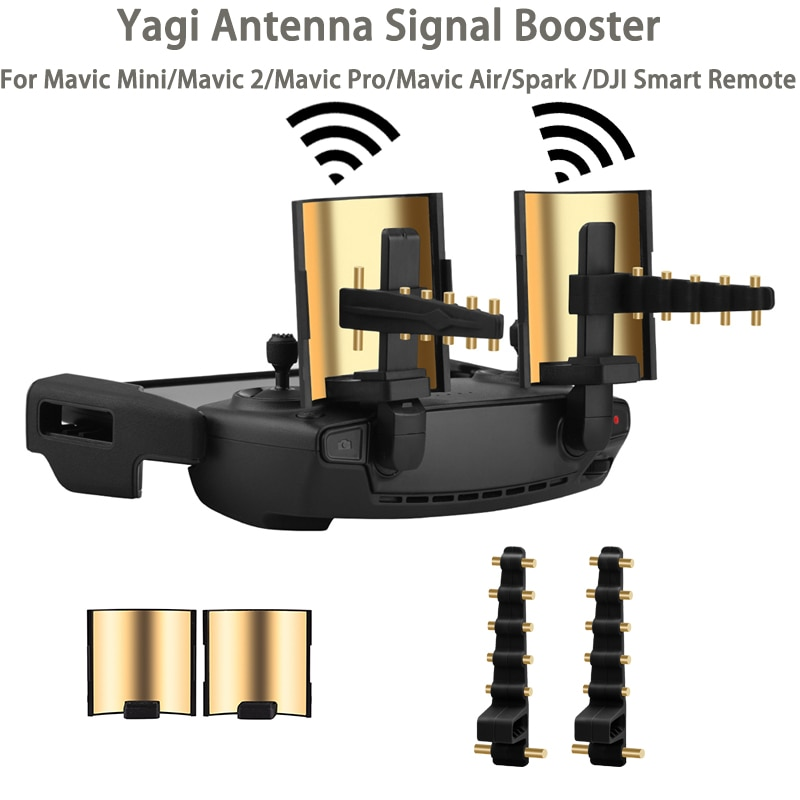 Controlador de Dron Yagi, amplificador de señal de antena, extensor de rango...